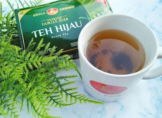 manfaat teh hijau kepala jenggot jerawat