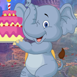 Games4King -  Birthday Elephant Escape