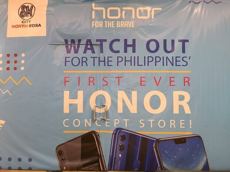 Spotted: Honor Set to Open PH's First Concept Store!