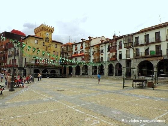 Plaza del Ayuntamiento, Castro Urdiales, Cantabria