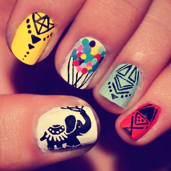 7f79481baf97438f2e96e06d41348fc2 Nail Designs Short Nails To Do At Home on