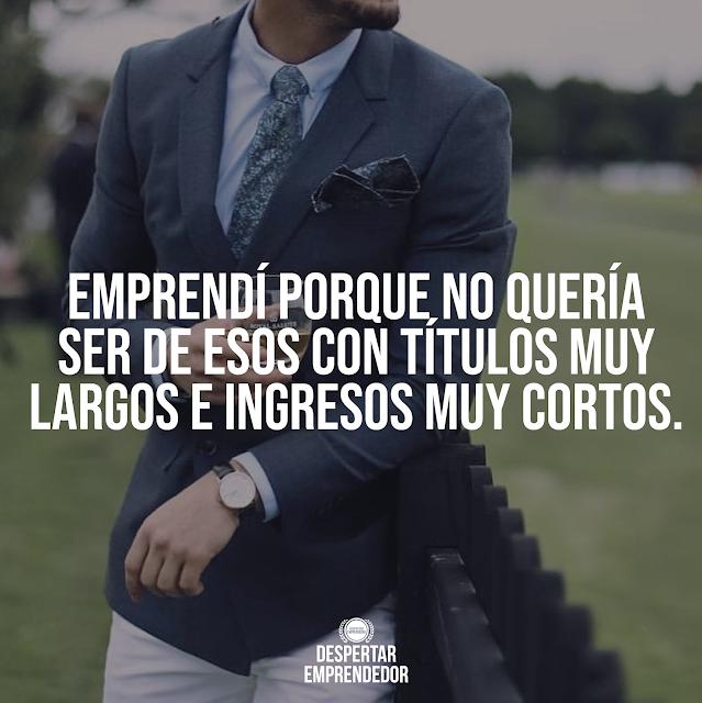 despertar emprendedor