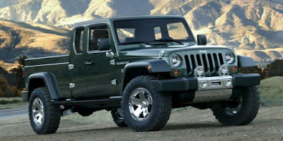 Jeep Gladiator Concept va frapper les lignes de production en 2018