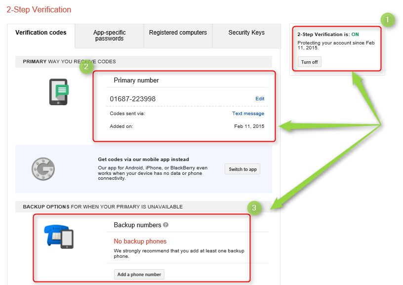 Protect your gmail account with phone verification save it from thief & hacker 7