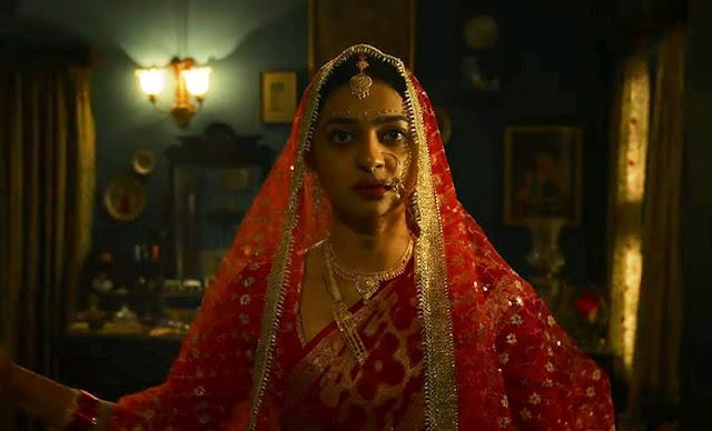 Radhika Apte in a still from Raat Akeli Hai