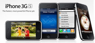 Apple iPhone 3GS announced with 3 Megapixel Camera, Video Recording, Voice Control, up to 32GB of storage, and more