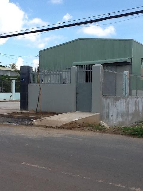 Cho thuê nhà xưởng mới xây dựng An Phú Đông - Quận 12. DT: 500m2 giá 20tr/tháng