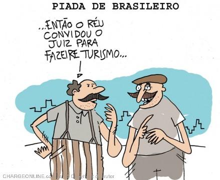 BLOG DO VINÍCIUS ASSUMPÇÃO: PIADA DE BRASILEIRO