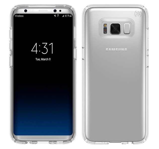 Samsung Galaxy S8 and LG G6: more filtered images that indicate frames disappear