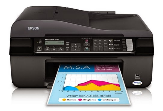 Epson WorkForce 520 Printer Drivers Download