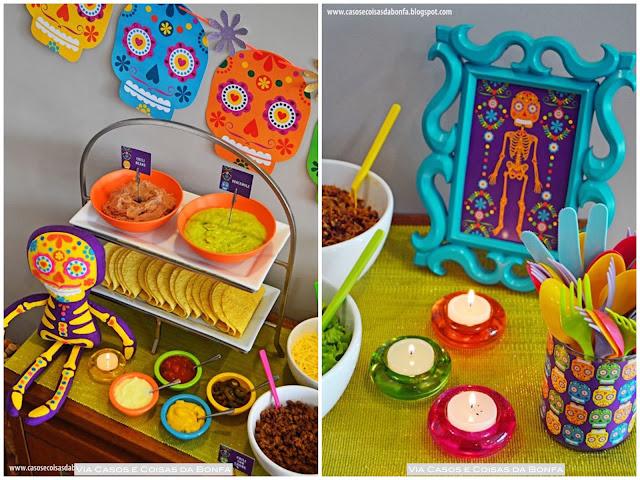 idéias para festa de aniversário mexicana