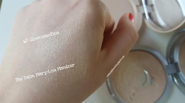 W7 Glowcomotion Aydınlatıcı Shimmer Highlighter Eyeshadow