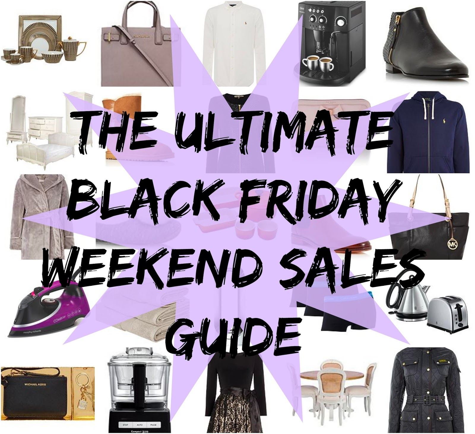 The ULTIMATE Guide To The Black Friday Weekend Sales & Discount Codes Image