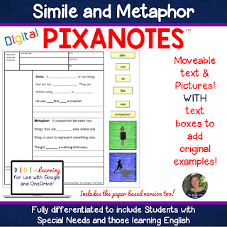 Students remember more with visuals like those found in DIGITAL Pixanotes!