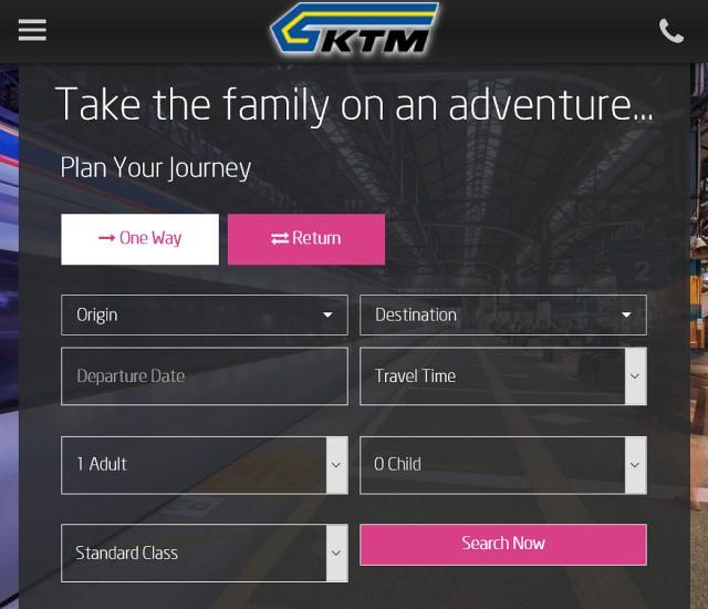 harga dan tempahan tiket ETS KTMB