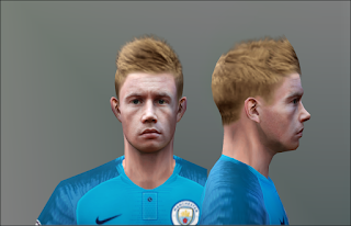 PES 6 Faces Kevin De Bruyne by Don_rxf