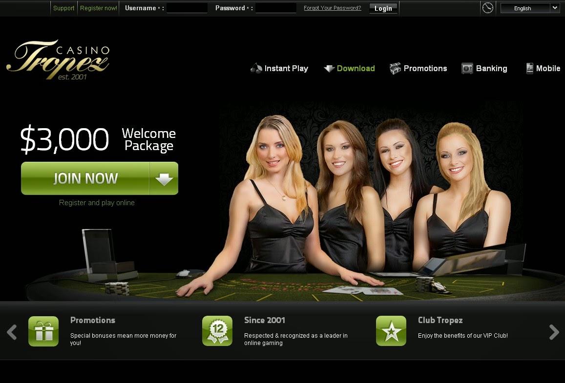официальный сайт тропез казино мобильная