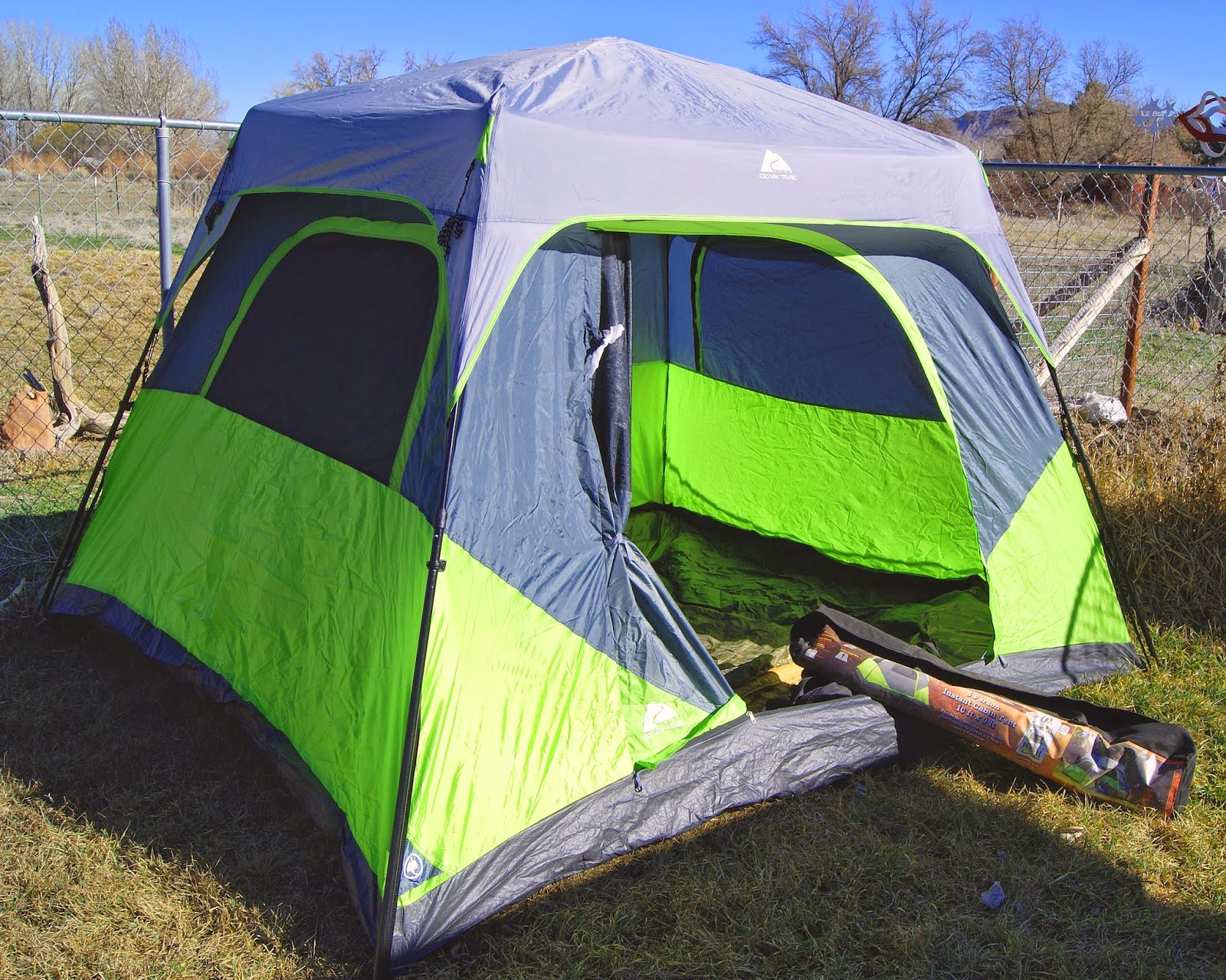 Review: Ozark Trail 6-person instant tent | The Apocalypse