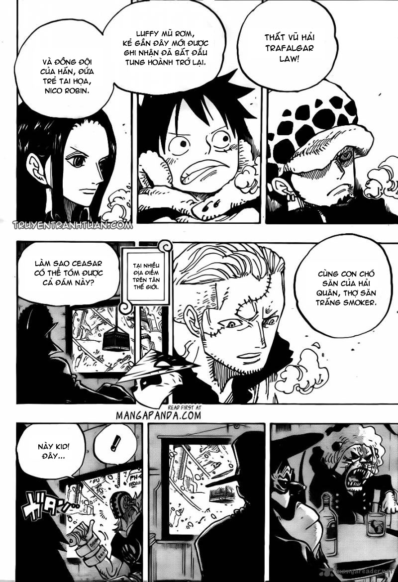 One Piece Chap 677