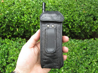 sarung pinggang kulit Nokia pisang 8110