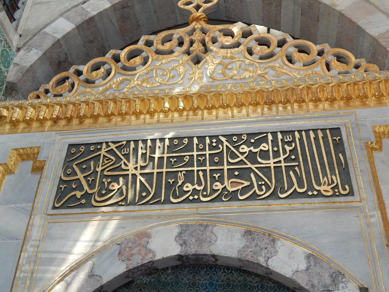 Sultánský palác Istanbul