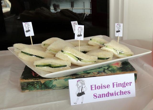 eloise finger sandwiches