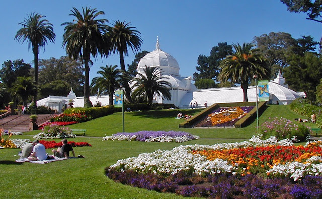 Conservatório de Florens no Golden Gate Park