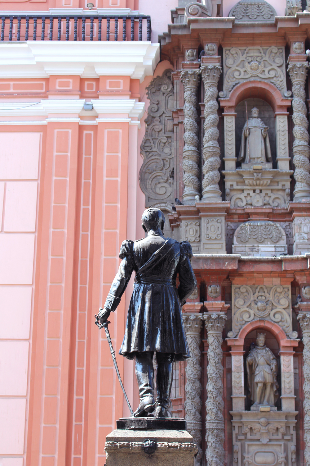 Statue in Lima, Peru - travel & lifestyle blog