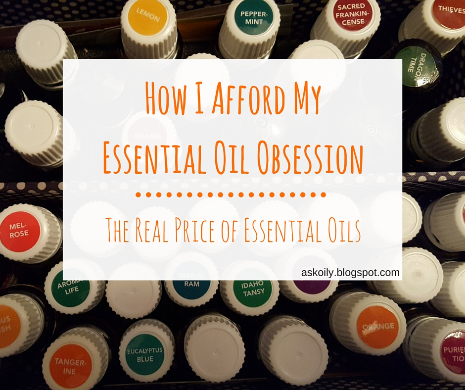 How to afford an obsession with essential oils | Hot Pink Crunch