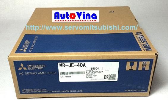 Nhà phân phối, tổng đại lý bán bộ Drive AC Servo Amplifier Mitsubishi MR-JE-40A