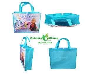 tas ulang tahun, tas ultah murah, tas souvenir ultah, tas ultah little pony, souvenir ultah little pony.