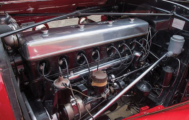 1937 Mercedes-Benz 540 K Special Roadster Engine