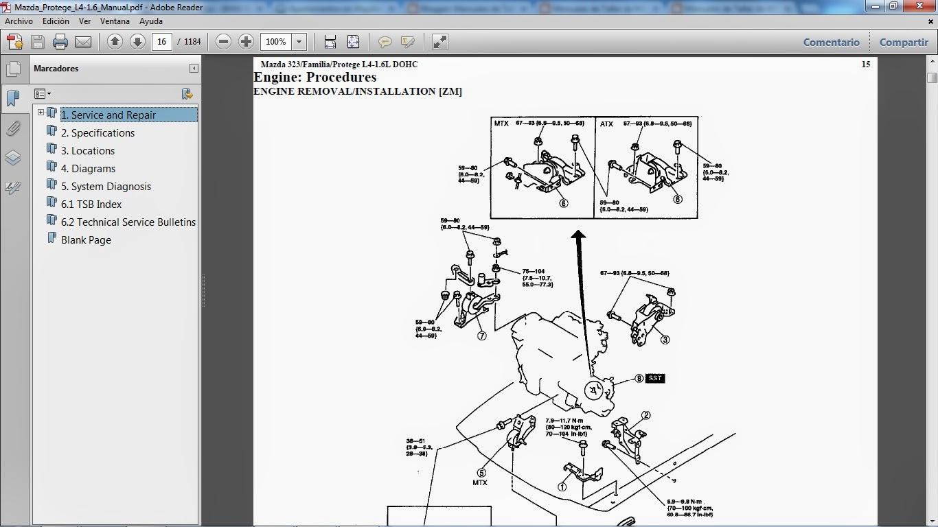 mazda 3 service manual pdf