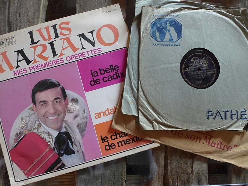 vinyles anciens