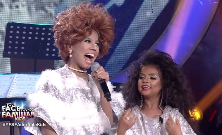 Awra as Shirley Bassey, Xia as Diana Ross wow on 'Your Face Sounds Familiar Kids'