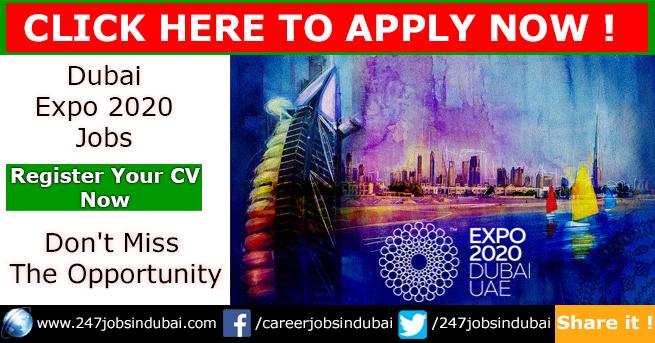 Latest Jobs Vacancies at Dubai Expo 2020
