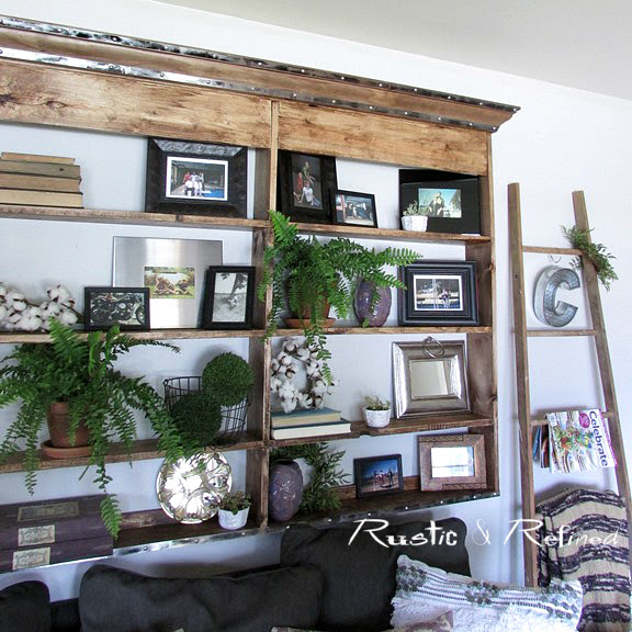 How to make a large wall hutch in a day that's cheap, quick and easy!