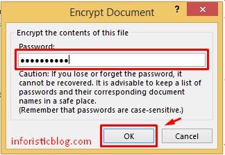 encrypt ms word document