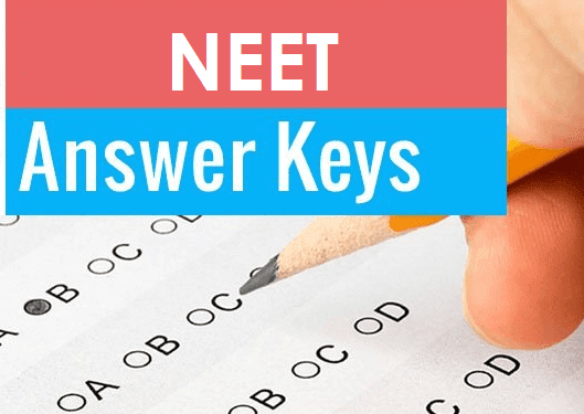 CBSE NEET UG Answer Key