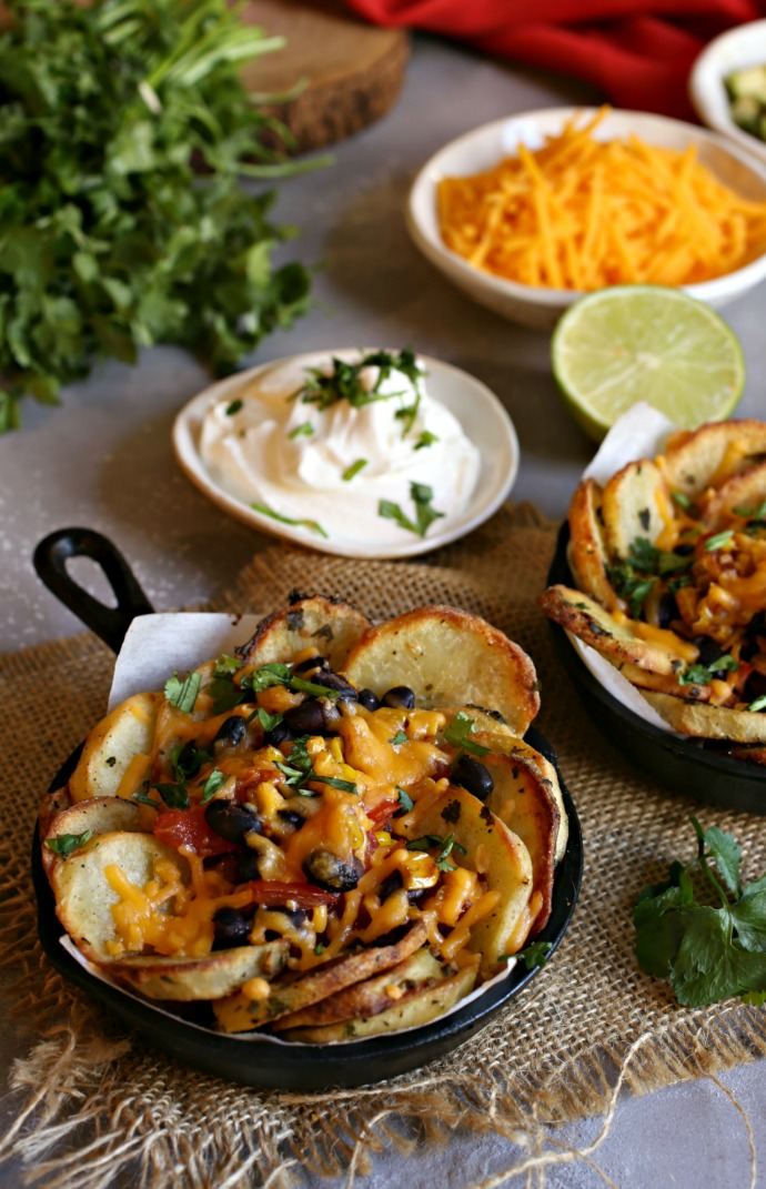 Tex-Mex-Potato-Nachos