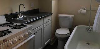 Άντρας νοίκιασε διαμέρισμα που το μπάνιο και η κουζίνα βρίσκονται στο ίδιο δωμάτιο