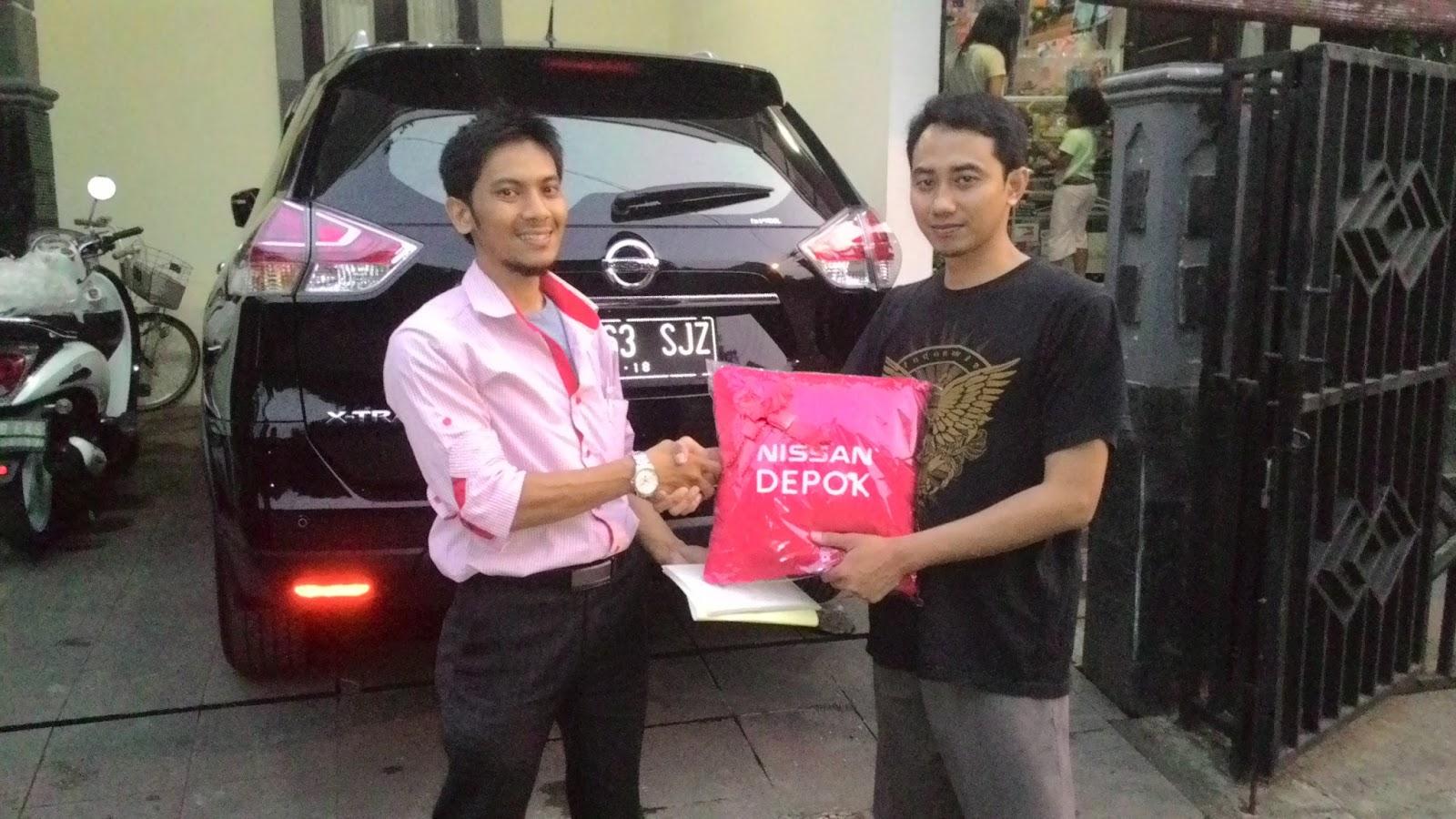 Terimakasih atas kepercayaan Pak Yudho & keluarga yg telah membeli All New Xtrail melalui media www.touchnissan.com.  Semoga Berkah ya Pak...