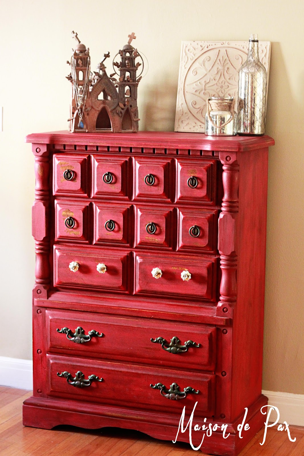 THE Red Dresser  Maison de Pax