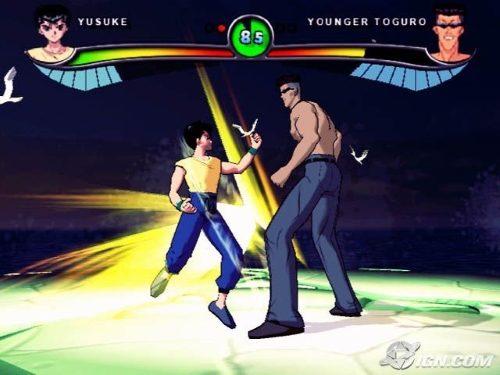 Yu Yu Hakusho Dark Tournament PS2 GAME ISO Gameplay