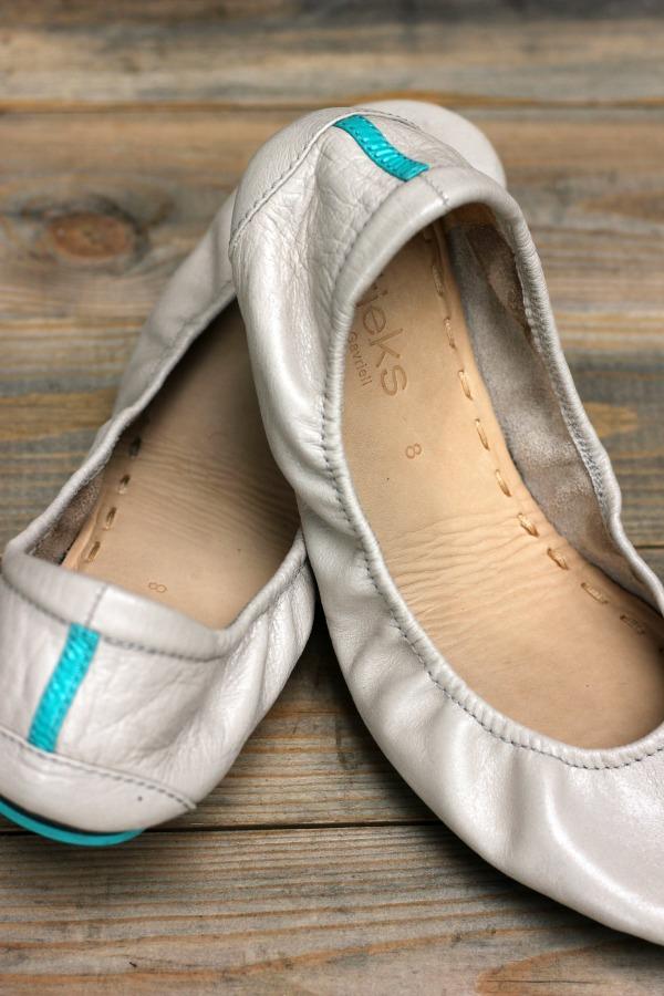 Tieks Ballet Flats Feather Grey