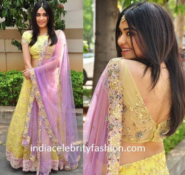Adah Sharma in Architha Narayanam Lehenga