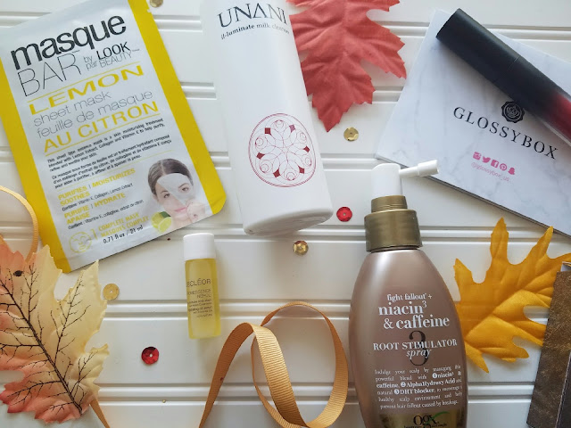 Glossybox October 2016 review by barbies beauty bits