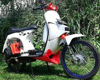 roda Modifikasi Vespa