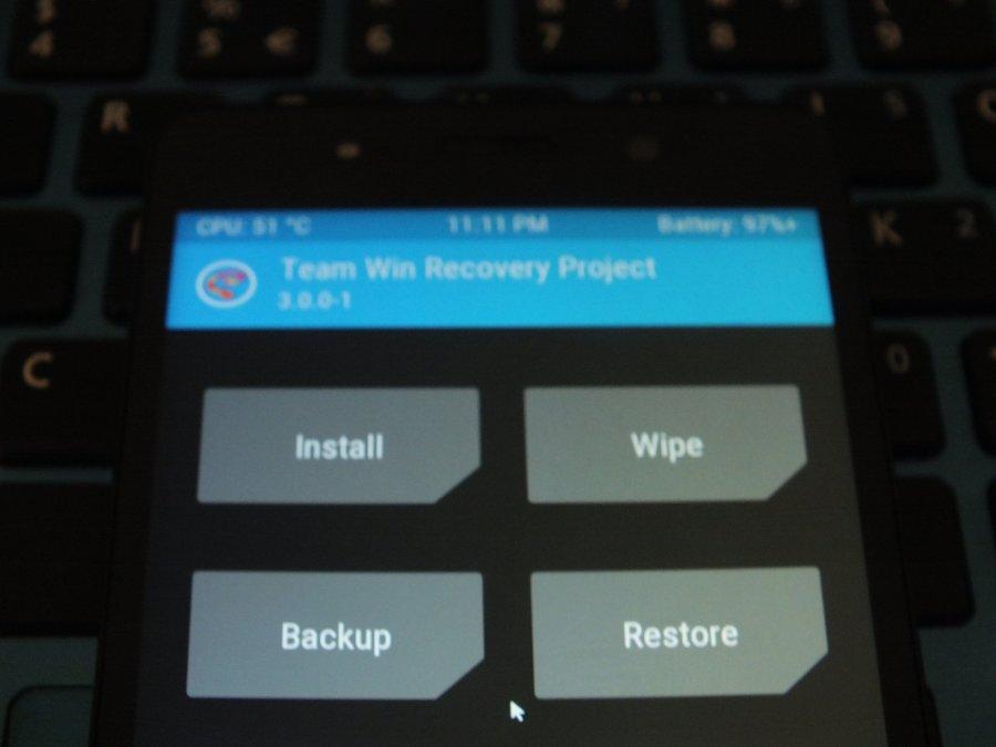 Cara Memperbaiki Andromax R Base 5 1 1 Belum Terpasang TWRP dengan