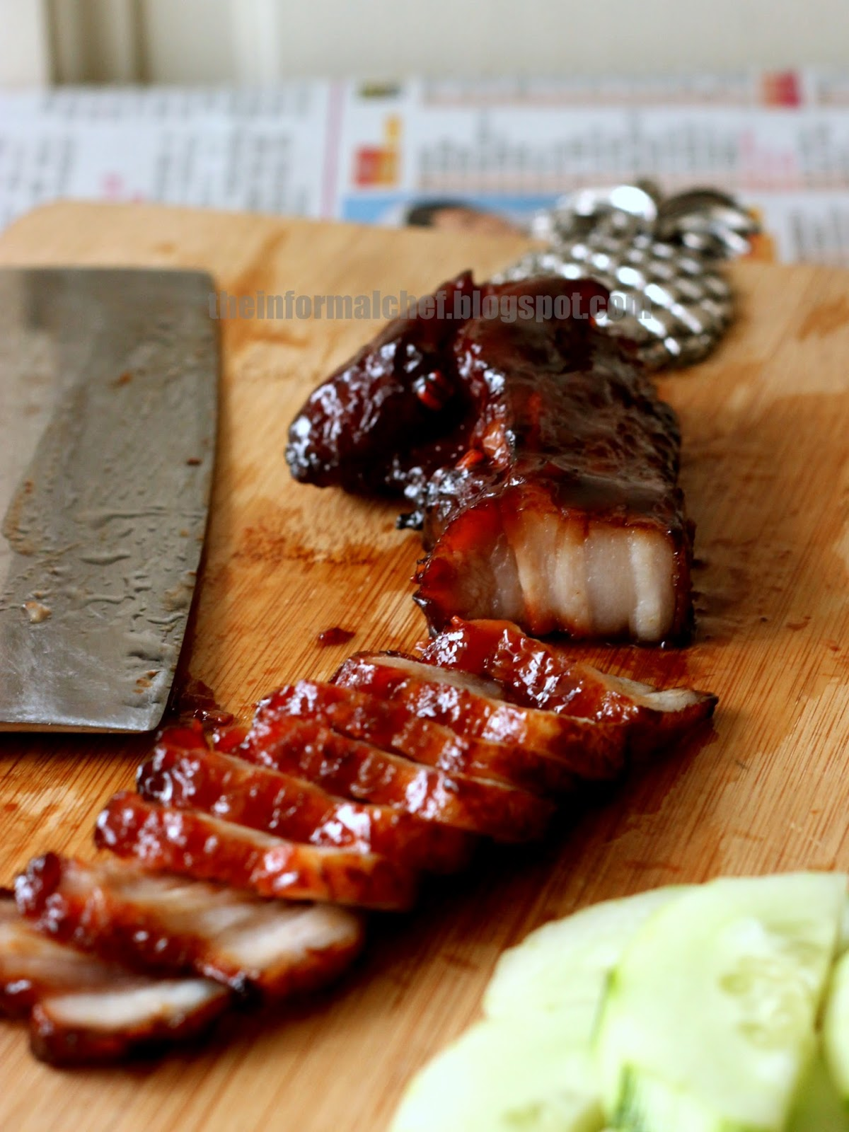 The Informal Chef: Recipe for Chinese Bbq Pork/Char Siu 叉燒
